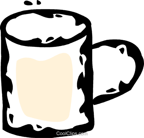 coffee mug Royalty Free Vector Clip Art illustration vc061031