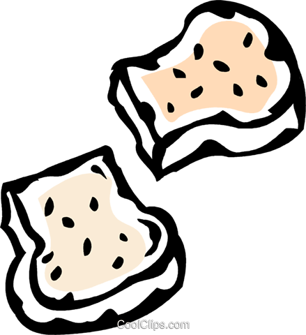 bread Royalty Free Vector Clip Art illustration vc061049