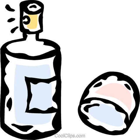 perfume Royalty Free Vector Clip Art illustration vc061102