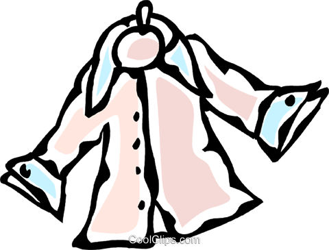 dress shirt Royalty Free Vector Clip Art illustration vc061122