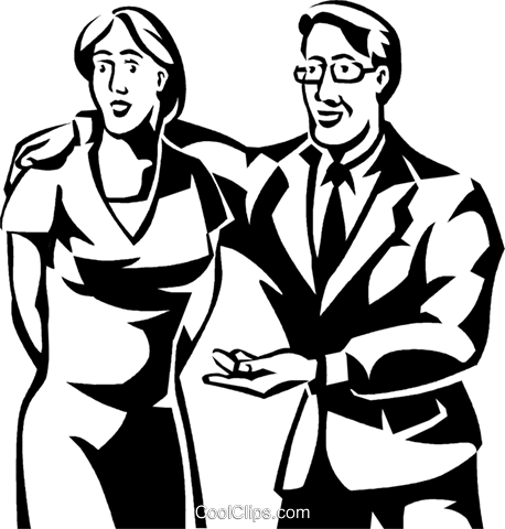 Couples and Romance Royalty Free Vector Clip Art illustration vc061279