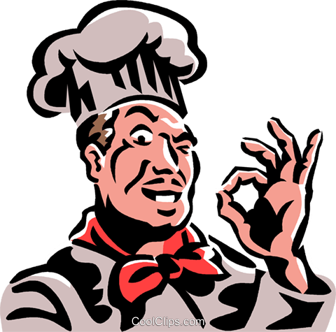chef Royalty Free Vector Clip Art illustration vc061329