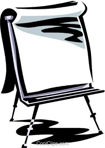 easel Royalty Free Vector Clip Art illustration vc061377