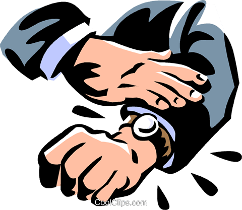 wristwatch Royalty Free Vector Clip Art illustration vc061416