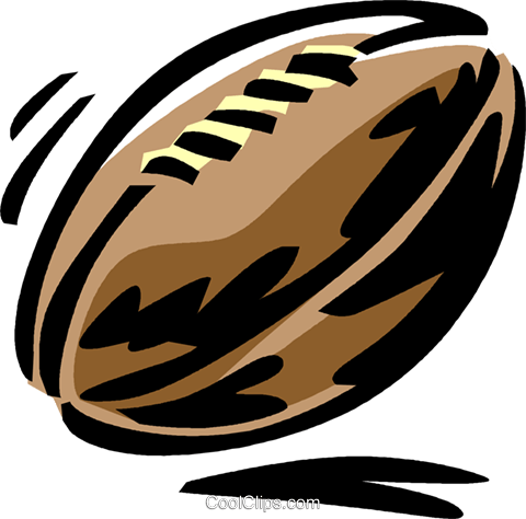 football Royalty Free Vector Clip Art illustration vc061433
