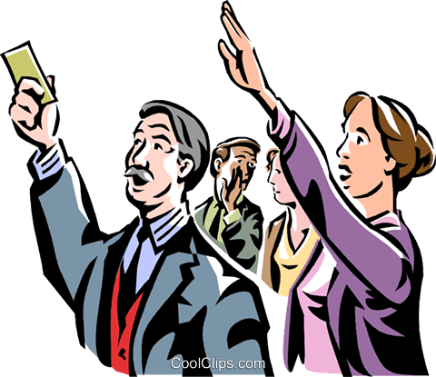 people at the stock market Royalty Free Vector Clip Art illustration vc061459