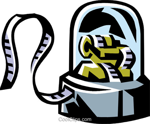 stock ticker Royalty Free Vector Clip Art illustration vc061470