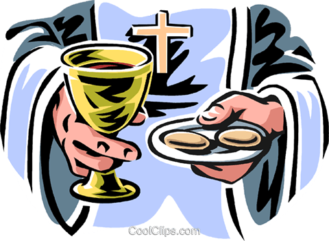 Communion Royalty Free Vector Clip Art illustration vc061551