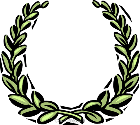decorative floral elements Royalty Free Vector Clip Art illustration vc061588