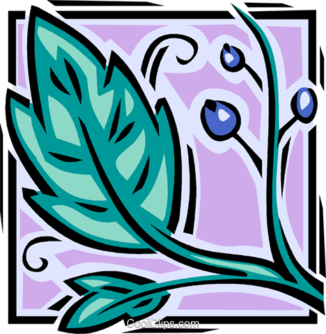 leaves Royalty Free Vector Clip Art illustration vc061652