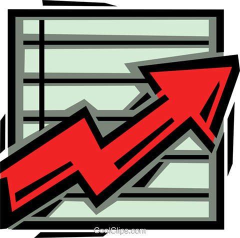 chart Royalty Free Vector Clip Art illustration vc061660