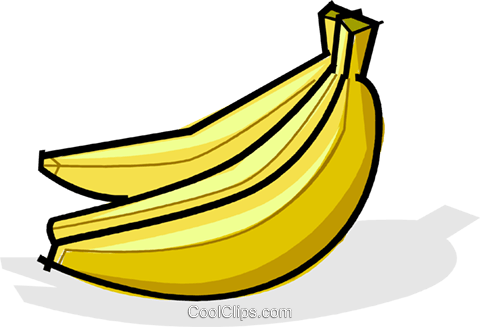 Bananas Royalty Free Vector Clip Art illustration vc061751