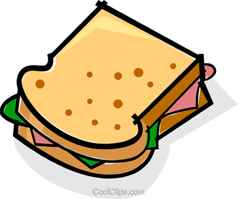 sandwich Royalty Free Vector Clip Art illustration vc061760