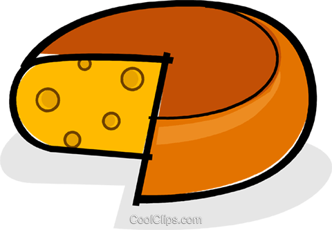 cheese Royalty Free Vector Clip Art illustration vc061761