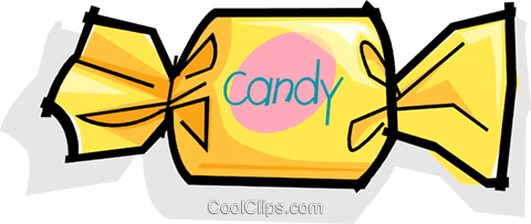 hard candy Royalty Free Vector Clip Art illustration vc061766