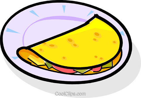 omelet Royalty Free Vector Clip Art illustration vc061783