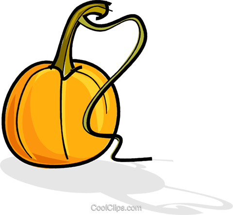 pumpkins Royalty Free Vector Clip Art illustration vc061816