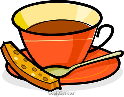 Cup of coffee Royalty Free Vector Clip Art illustration vc061854