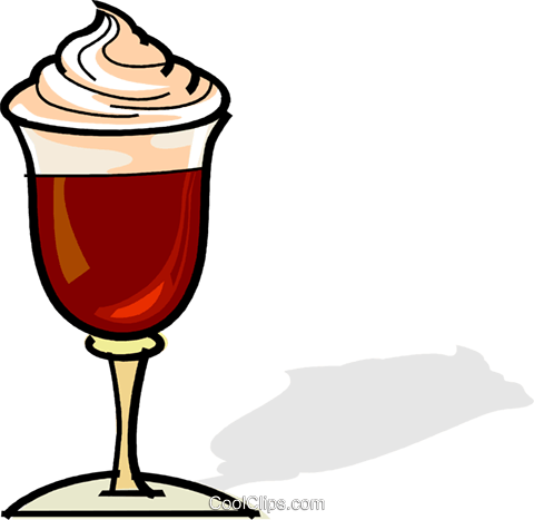 Gourmet coffee Royalty Free Vector Clip Art illustration vc061866