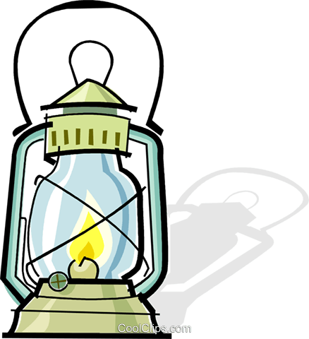 oil lantern Royalty Free Vector Clip Art illustration vc061904