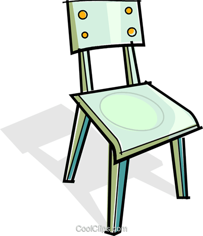 chair Royalty Free Vector Clip Art illustration vc061955