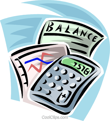 calculators Royalty Free Vector Clip Art illustration vc062395