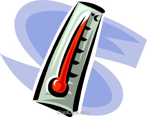 thermometer Royalty Free Vector Clip Art illustration vc062399