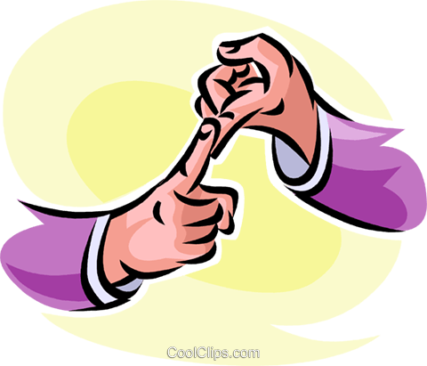 sign language Royalty Free Vector Clip Art illustration vc062530