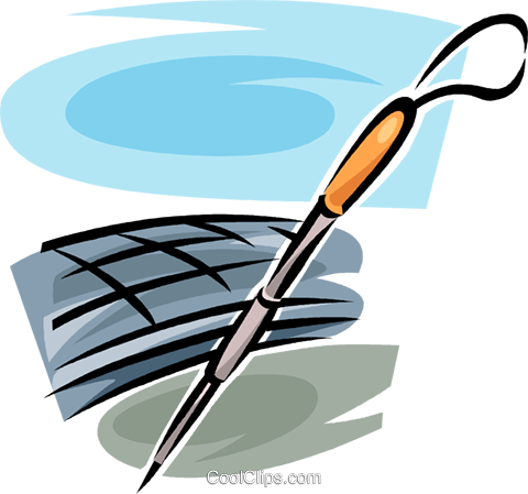 cane for the blind Royalty Free Vector Clip Art illustration vc062550