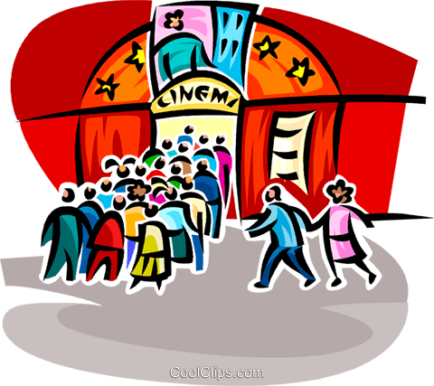 Cinema clipart  Cinema Vektor Clipart Bild -vc062584-CoolCLIPS.com