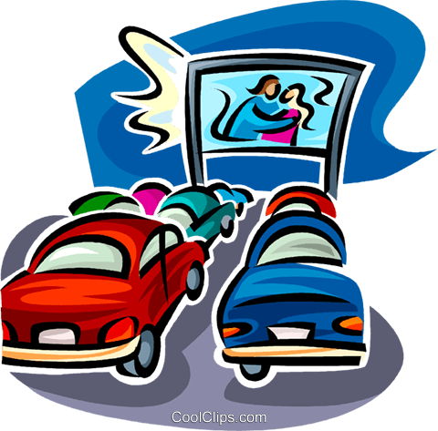 drive in theatre royalty free vector clip art illustration vc062586 rh search coolclips com