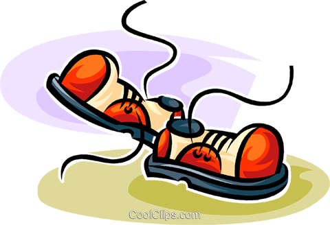 shoes Royalty Free Vector Clip Art illustration vc062606