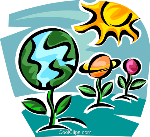 global responsibility Royalty Free Vector Clip Art illustration vc062623