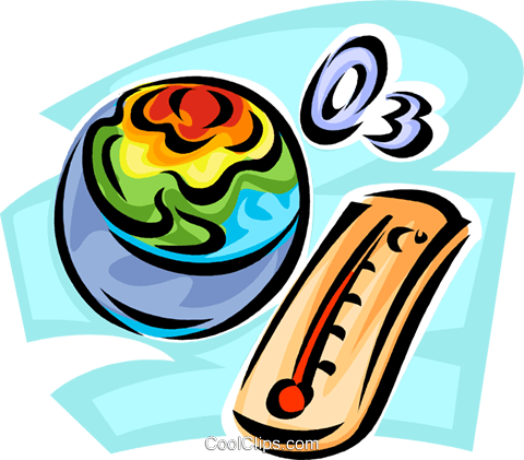 global warming Royalty Free Vector Clip Art illustration vc062634