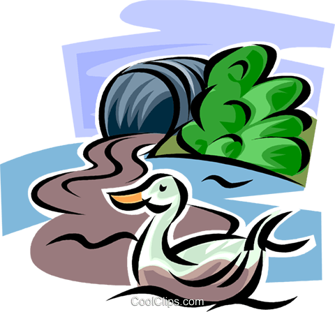 Pollution Royalty Free Vector Clip Art illustration vc062646