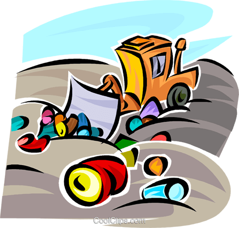 Pollution Royalty Free Vector Clip Art illustration vc062686