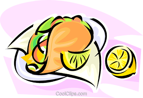 taco Royalty Free Vector Clip Art illustration vc062843