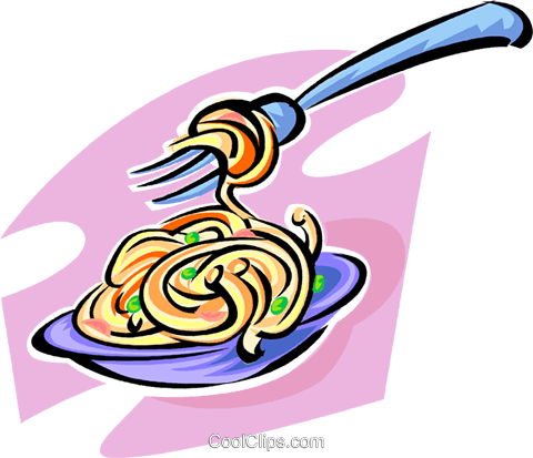 spaghetti Royalty Free Vector Clip Art illustration vc062849
