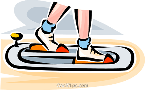 person exercising Royalty Free Vector Clip Art illustration vc063099