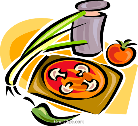 vegetable groups Royalty Free Vector Clip Art illustration vc063292