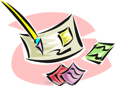 philately, stamp collecting Royalty Free Vector Clip Art illustration vc063301