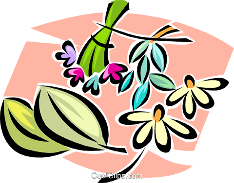flowers Royalty Free Vector Clip Art illustration vc063310