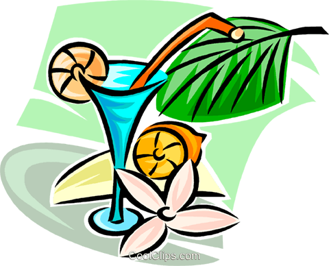 cocktails Royalty Free Vector Clip Art illustration vc063342
