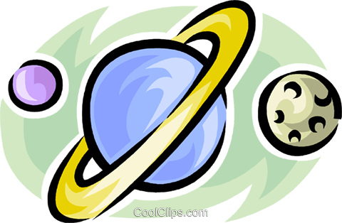 planets Royalty Free Vector Clip Art illustration vc063471