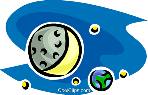 planets Royalty Free Vector Clip Art illustration vc063482