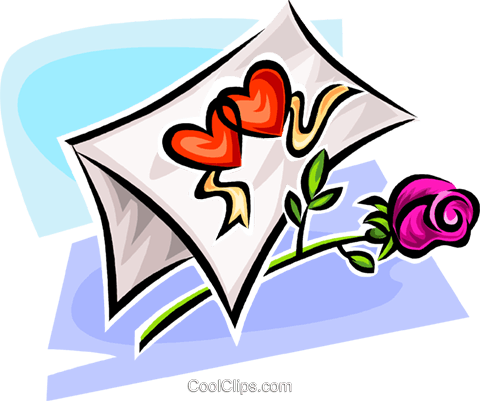Valentine card Royalty Free Vector Clip Art illustration vc063554