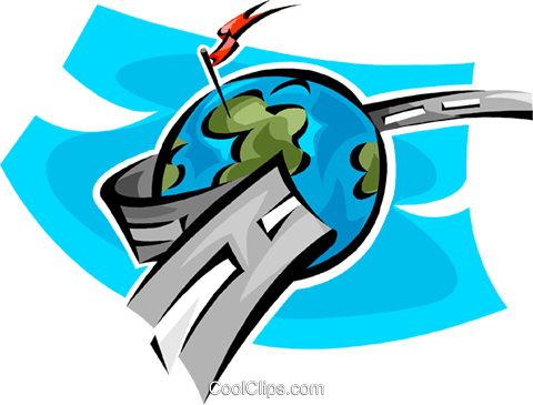 world wide web / Datenautobahn Vektor Clipart Bild vc063762