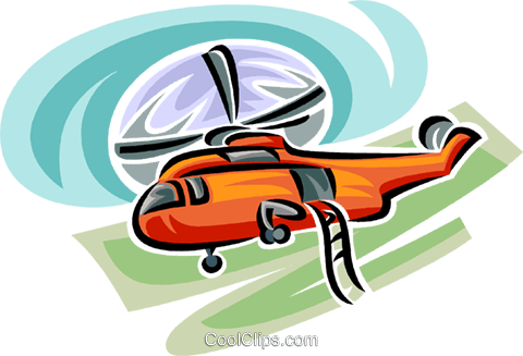 helicopter Royalty Free Vector Clip Art illustration vc063776