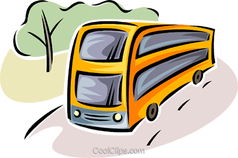 busses Royalty Free Vector Clip Art illustration vc063794