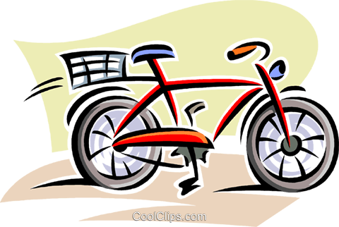 bicycle Royalty Free Vector Clip Art illustration vc063815